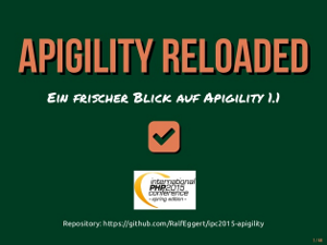 Apigility Reloaded