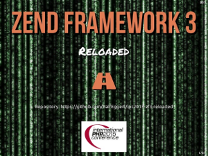 Zend Framework 3 Reloaded